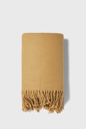 Zara écharpe épaisse à franges