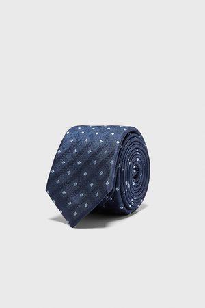 Zara Homme Cravates - Cravate large en jacquard à losanges
