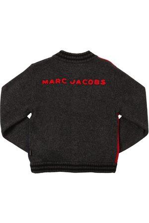 Marc Jacobs Cardigan En Laine Et Viscose Mélangées