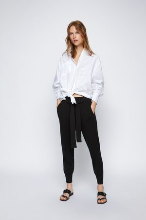 Zara Pantalon de jogging en maille