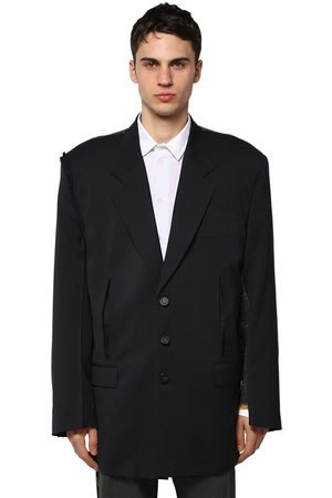OFF-WHITE Reconstructed Wool Blazer