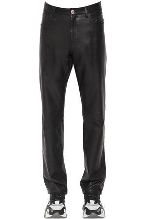 Coupe Versace Slim Luisaviaroma Pantalon En 17 Cuir Cm 4LAj5Rc3q