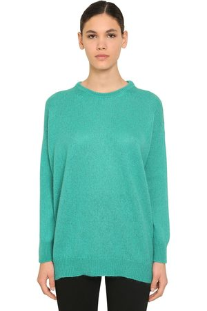 Max Mara Mohair Blend Knit Sweater
