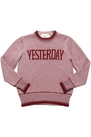 "Alberta Ferretti Pull-over En Lurex Et Viscose ""yesterday"""