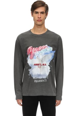 """AN AN ANN T-shirt En Coton Manches Longues """"heaven"""""""
