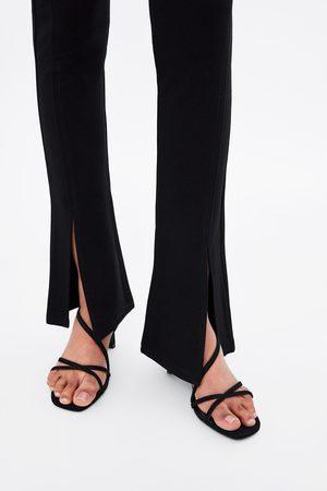 Zara Femme Leggings & Treggings - Legging à fentes
