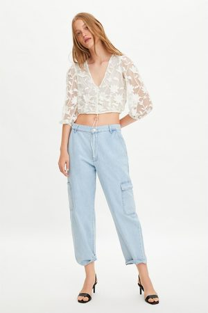 Comparez Zara Chemises Achetez Brodee Femme Et Trcshqd Y67yIfgvmb
