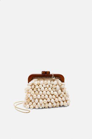 Zara Mini sac bandoulière avec fermoir porte-monnaie et coquillages édition spéciale