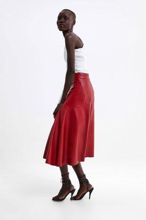 Zara Jupe en cuir