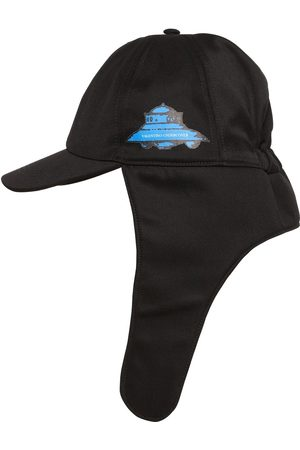 Valentino Homme Chapeaux - Vu Ufo Printed Nylon Aviator Hat