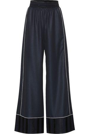 Golden Goose Pantalon ample Sophie en satin