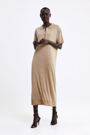Zara Robe longue en maille