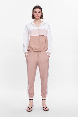 Zara Pantalon de jogging avec bandes latérales