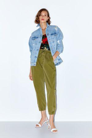 Zara Pantalon de jogging à zip