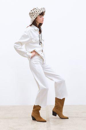 Zara Jean zw premium hw culotte white