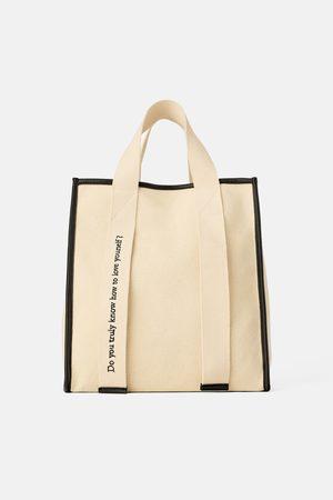 Zara Sac shopper en toile join life
