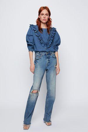 Zara Jean zw premium real straight sunrise blue