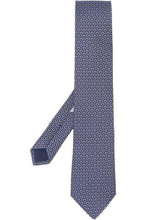 Salvatore Ferragamo Cravate imprimée Gancini
