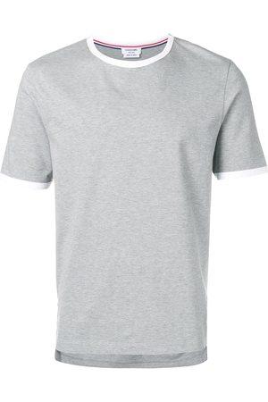 Thom Browne T-shirt à bordures contrastantes