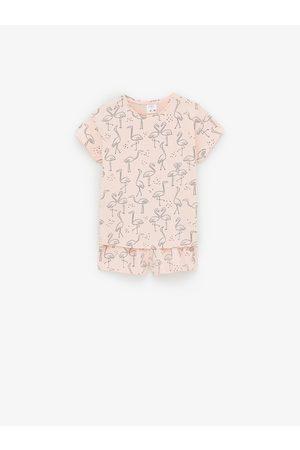Zara Pyjama imprimé flamants roses