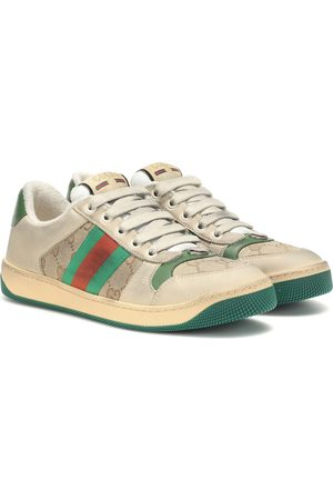 Gucci Baskets Screener en cuir