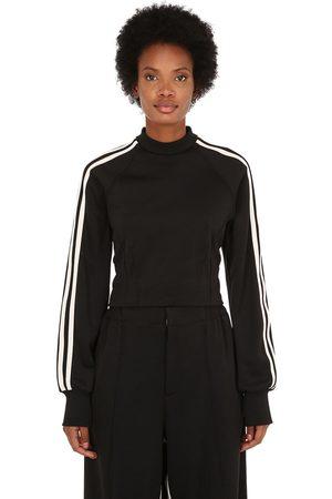 Y-3 3-stripes Cropped Techno Sweatshirt