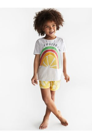 Zara Pyjama à arc-en-ciel fruits