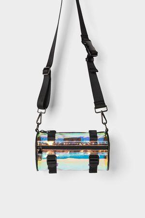 Zara Sac bandoulière croisé tubulaire en vinyle