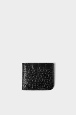 Zara Homme Portefeuilles - Portefeuille gravé reptile
