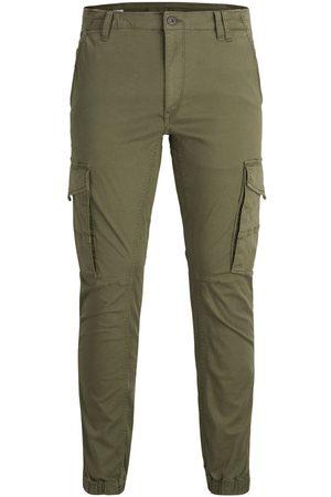 Jack & Jones Homme Cargos - Paul Flake Akm 542 Pantalon Cargo Men green