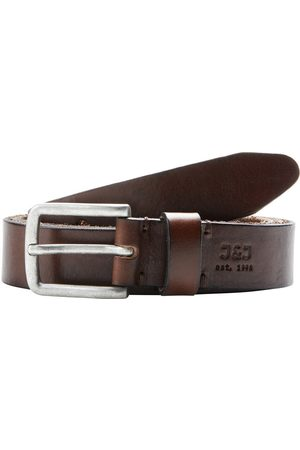 Jack & Jones Cuir Ceinture Men brown