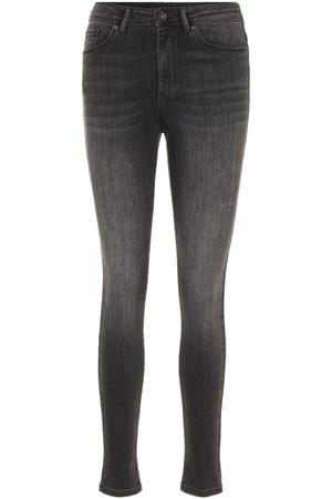 3a3f49d4fb Acheter Taille haute jeans pour femme de couleur gris en Ligne |  FASHIOLA.fr | Comparer & acheter