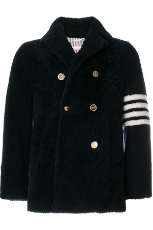 Thom Browne Homme Manteaux longs - Unconstructed Classic Shearling Peacoat