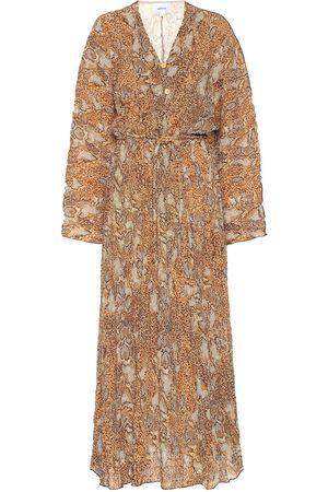 Nanushka Robe longue Chul imprimée
