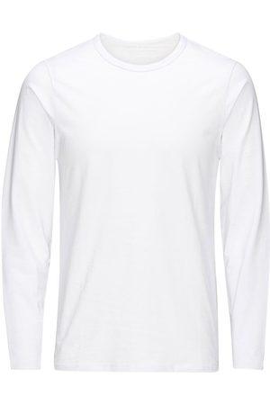 Jack & Jones Basique Manches Longues T-shirt Men White
