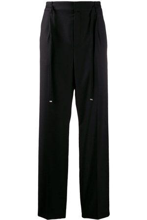 Saint Laurent Pantalon de costume à taille élastique