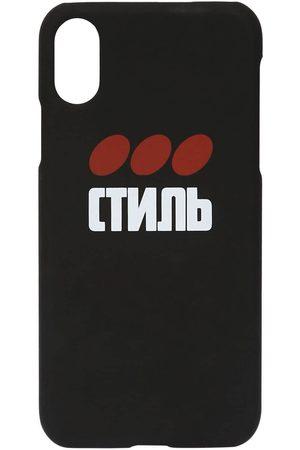 "Heron Preston Coque Iphone Xs En Tech Imprimé ""ctnmb"""