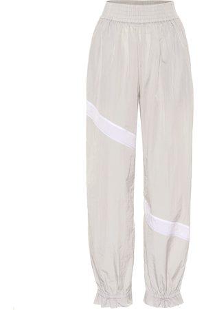 Ganni Pantalon de survêtement en toile technique