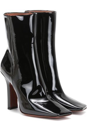 Vetements Bottines en cuir verni