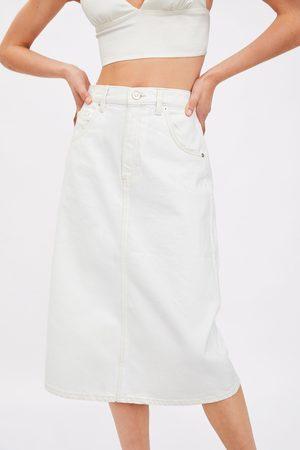 Zara Jupe en jean mi-longue
