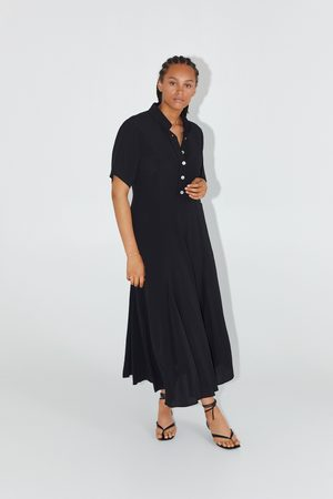 Zara Robe longue style chemise