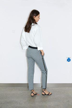 Zara Pantalon de jogging à bande latérale