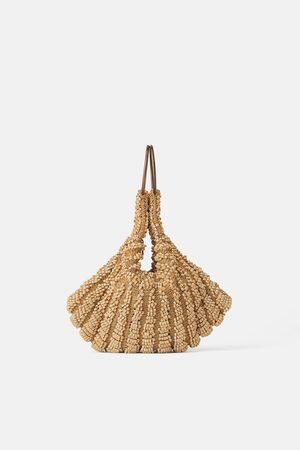 Zara Mini sac à main seau à verroteries
