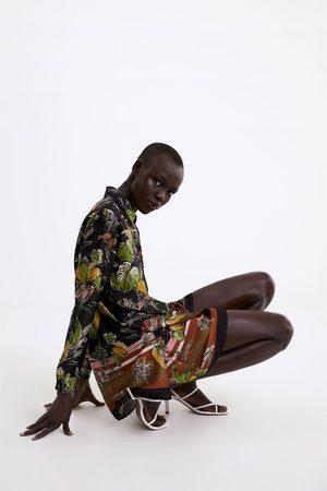 Zara Chemise à imprimé floral