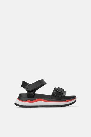 Zara Femme Sandales - Sandales sport compensées