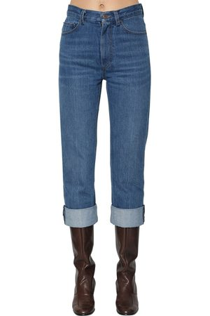 Marc Jacobs Straight Leg Cotton Denim Jeans