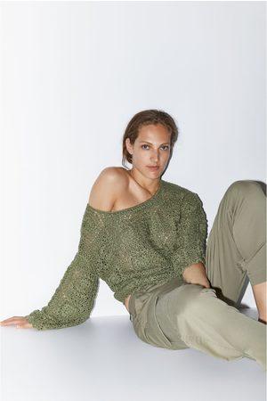 Zara Pull en maille crochet édition limitée