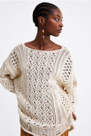 Zara Femme Pulls - Pull oversize texturé
