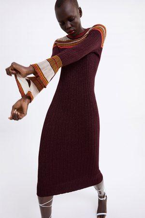 Zara Robe longue brillante