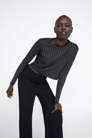 Zara Femme Pulls - Pull à brillants